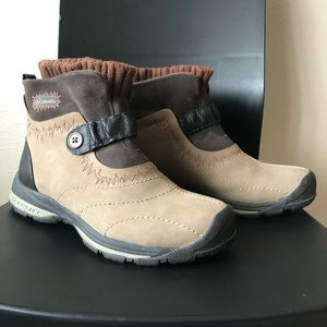 columbia leather lined boot